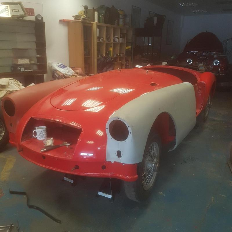 View MG MGA -