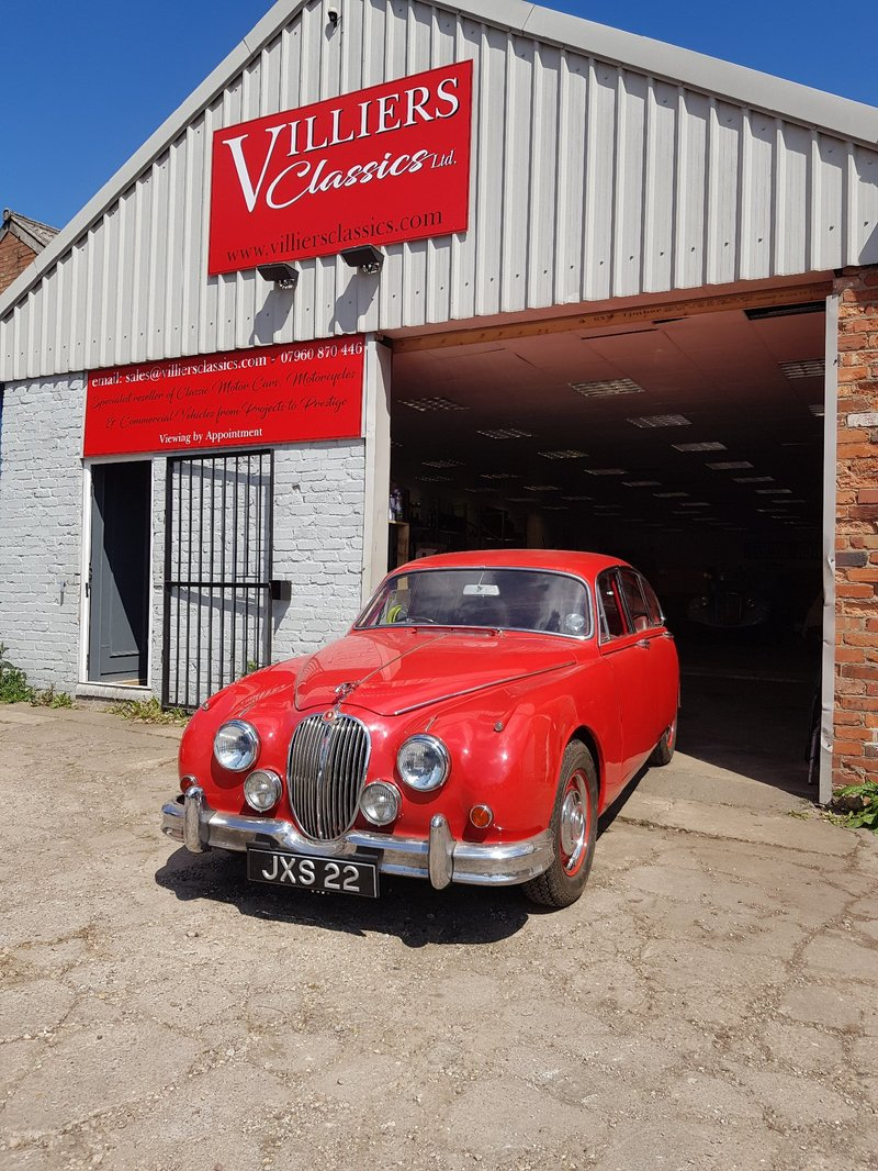 View JAGUAR MARK II 3.4 manual overdrive